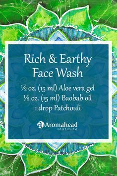 Cleanse and refresh your skin with this soap-free face wash using essential oils! I have another face wash for you here: http://www.aromahead.com/blog/2014/10/13/aloe-avocado-soap-free-face-wash/