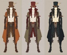 SteamPunk - Sam'Oray by MizaelTengu. on deviantART Best Picture For Steampunk Fashion design For Your Taste You are looking for something, and it is going to tell you exactly what you are loo Steampunk Armor, Steampunk Drawing, Arte Steampunk, Steampunk Jacket, Steampunk Clothing, Steampunk Fashion, Character Design Cartoon, Character Design References, Character Design Inspiration