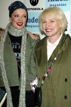 Shirley Manson (Garbage) & Debbie Harry (Blondie)