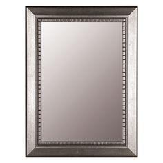 Katmandu Silver Wall Mirror   from hayneedle.com
