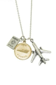 LEILA Jewelry  Traveler Necklace -- Awesome!