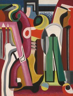 Composition (Grande Vitesse) by Auguste Herbin, 1927