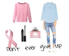"""""""Don't ever give up"""" by joanabonjour on Polyvore featuring Christian Dior, rag & bone/JEAN, Equipment and Smashbox"""