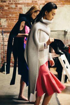 top bwerking, zou je een rok ook met die vorm zo kunnen breien, wat is het mogelijke verschil tussen n soepeler breisen en deze vorm toepassen in n milano