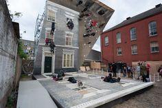 Leandro Erlich, Dalston House. Photo Gar Powell-Evans. Barbican Art Gallery 2013