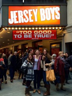 Seeing a Broadway show: Jersey Boys in NYC