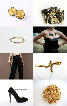 --Pinned with TreasuryPin.com Bracelets, Gold, Etsy, Jewelry, Fashion, Moda, Jewlery, Bijoux, La Mode