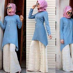 Muslim Fashion, Hijab Fashion, Fashion Outfits, Fashion Pants, Harajuku, Model, Clothes, Kurtis, Dresses