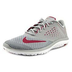 Nike - Nike Flex Fs Lite Run Damen Sportschuhe Grau Leder Textil 684667 - Grau, 37,5 - http://on-line-kaufen.de/nike/37-5-nike-fs-lite-run-2-damen-laufschuhe