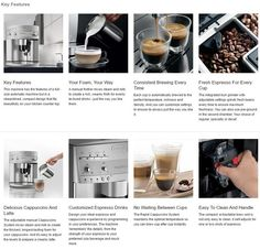 making a good espresso coffee Espresso Machine Reviews, Espresso Coffee Machine, Espresso Maker, Automatic Espresso Machine, Italian Espresso, Coffee Varieties, Popular Drinks, Coffee Blog, Blended Coffee