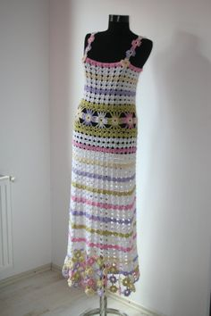 CROCHET DRESS by GABRIELAFAUR on Etsy, £100.00