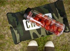Clear Water Bottle