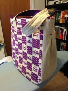 Super tote. Pattern by Noodlehead. | Flickr - Photo Sharing!