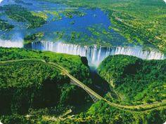 The Livingstone Falls in Democratic Republic of the Congo