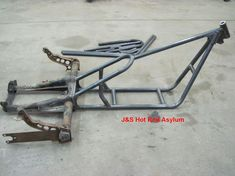 VW Volkswagen Trike Frame Kit Hot Rat Rod Motorcycle