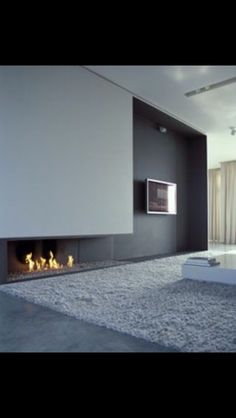 17+ Modern Fireplace Tile Ideas, Best Design | Architecture | Pinterest |  Gas Fires, Modern Fireplaces And Fireplace Design