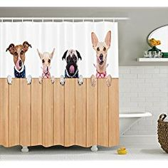 The 84 Best Shower Curtains For Dog Lovers Images On Pinterest