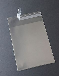 Clear Square Greeting Card Bags and Notecard Sleeves, Packs of 100 Pieces, Choice of 8 Different Sizes