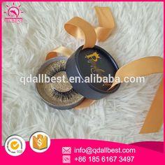 Fashion Hot Sale Round Eyelash Box Round Favor Eyelashes Packaging Paper Box