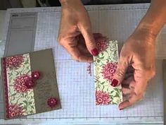 ▶ Simply Simple FLASH CARDS 2.0 Vintage Boho Blossoms by Connie Stewart - YouTube