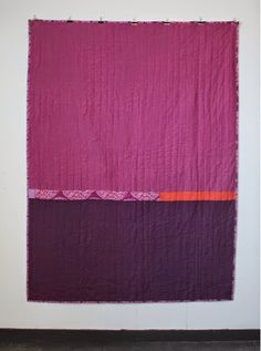 mūsu quilts // good color transition idea for Rothko-influenced quilt