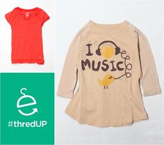 I just got 2 items on thredUP and saved 70%! I just bought these 2 shirts for my daughter and paid just the $3.98 s&h :D with the CYBER promo code for $15 off $15 only purchase necessary but they have really cute low price stuff, so you'll most likely spend more.