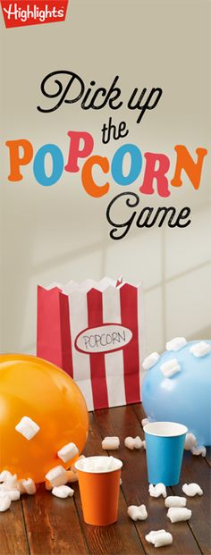 Pick Up the Popcorn Game