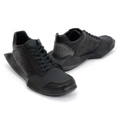 Adidas x Rick Owens Black Tech Runner - AW14RA004