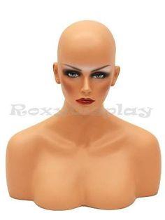 (MD-MEGAN) ROXY DISPLAY® Female mannequin head to shoulde... https://www.amazon.com/dp/B00G96OWEE/ref=cm_sw_r_pi_dp_OYjLxbYJEDHMS