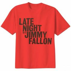 Late Night with Jimmy Fallon T-Shirt - Red