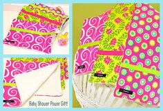 Burp Cloth Trio