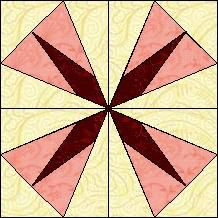 Quilt-Pro - Block of the Day-Diamond Star...Subscribe today and receive a daily e-mail with your free Block of the Day! The Block of the Day is available to all quilters, regardless of whether you own our software programs.
