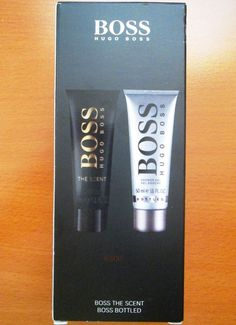 * * * HUGO BOSS Duo Shower Gel - BOSS THE SCENT + BOSS BOTTLED * * * | eBay Hugo By Hugo Boss, Boss Bottled, Lotion, Boss The Scent, Shower Gel, Personal Care, Ebay, Self Care, Personal Hygiene