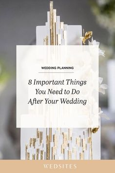 From sending thank you notes to sharing photos and preserving your flowers, make sure you add these 8 essential things to your post-wedding task list. Wedding Costs, Post Wedding, Wedding Day, Wedding Tips, Sell Your Wedding Dress, Plan Your Wedding, Custom Photo Albums, Natural Wedding Makeup, Wedding Planning Checklist