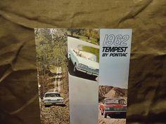 1962 TEMPEST PONTIAC vintage Dealership brochure