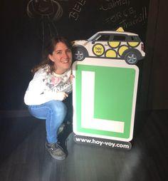 AROA SEQUERA!!! #newdriver #hoyvoy #autoescuela #barcelona