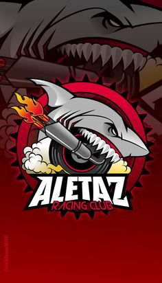 Logotipo, para un grupo de motociclistas deportivos.
