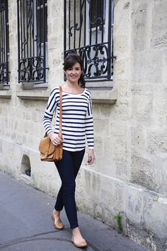 My Capsule Wardrobe: City Break eBook by Lisa Comfort | Sew Over It :: classic breton striped Molly Top
