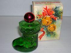 Vintage Avon Christmas Suprise Sweet Honesty Used Perfume Bottle p89 w/box