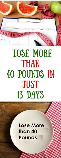 t is highly recommended to begin this diet on Sunday. It lasts 13 days and according to the experiences of those who used it, you will lose up to 44 pounds, but it is very difficult and worthy! The…