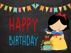 Happy Birthday Blanca Nieves