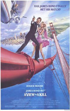 Roger Moore in A View to A Kill