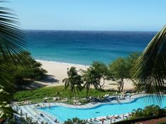 The Hapuna Beach Prince Hotel has a great pool. Perfect for some post-pampering relaxation!