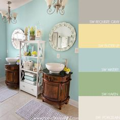 How to Find Your Color Story. Tips on how to begin a room design and determine colors for a room.