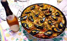 #paiella di mare e #bollicine #daraprì #rosè #metodoclassico #enjoydarapri