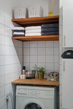 Tvättmaskinen underlättar vardagsbestyren