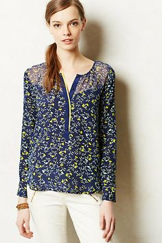 Ranuncolo Blouse #anthropologie