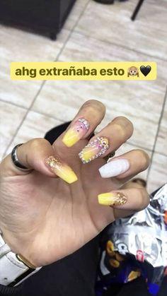 Dream Nails, Tumblr, Beauty, Unicorn Nails, Glue On Nails, Cute Nails, Nail Designs, Gel Nails, Fingernail Designs