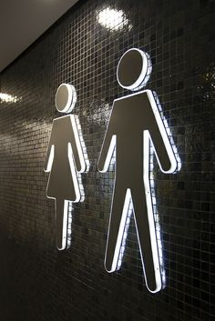 Illuminated toilet signs | Flickr - Photo Sharing! www.stocksigns.co.uk