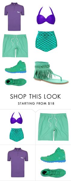 """""""Untitled #330"""" by kassidyrobinson on Polyvore featuring River Island, Moschino, Haglöfs and Coconuts"""